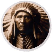North American Indian Series 2 Round Beach Towel