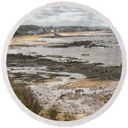 North Berwick, East Lothian Round Beach Towel
