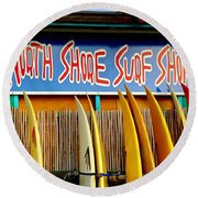 North Shore Surf Shop 2 Round Beach Towel