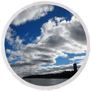 Northwest Arm Round Beach Towel
