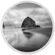 Northwest Monolith Round Beach Towel