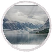 Norway Round Beach Towel