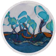 Not A Forest - Ab02c02 Round Beach Towel