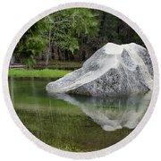 Not An Iceberg Round Beach Towel by Debby Pueschel