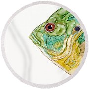 Not In Your Pan Round Beach Towel