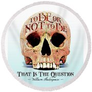 Not To Be Round Beach Towel by Gary Grayson