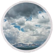 Not Until We Are Lost Do We Begin To Understand Ourselves.  Round Beach Towel