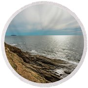 Nova Scotia Round Beach Towel
