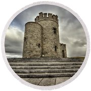 O Brien's Tower Round Beach Towel