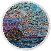 Oak Bay Nb June 2015 Round Beach Towel
