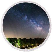 Oak Orchard Milky Way Round Beach Towel
