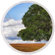 Oaktree Round Beach Towel