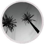 Oasis Up Round Beach Towel