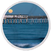 O B Morning Round Beach Towel