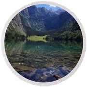 Obersee Round Beach Towel