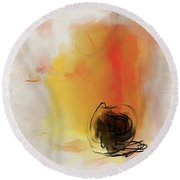 Obsession Round Beach Towel