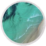 Ocean Art Round Beach Towel
