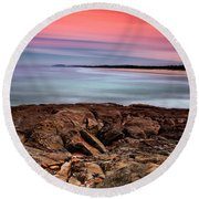Ocean Beauty 6666 Round Beach Towel by Kevin Chippindall