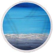 Ocean Blue 3 Round Beach Towel