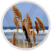 Ocean Breeze Round Beach Towel