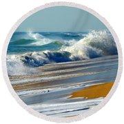 Ocean Delight Round Beach Towel by Dianne Cowen