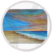 Ocean  Journey  Round Beach Towel