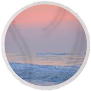 Ocean Peace Round Beach Towel by  Newwwman
