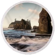 Ocean Spire Signature Series Round Beach Towel