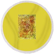14-offspring While I Was On The Path To Perfection 14 Round Beach Towel