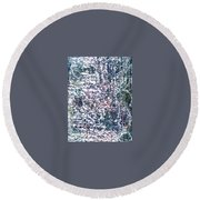 18-offspring While I Was On The Path To Perfection 18 Round Beach Towel