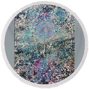 31-offspring While I Was On The Path To Perfection 31 Round Beach Towel