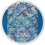 32-offspring While I Was On The Path To Perfection 32 Round Beach Towel