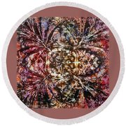 36-offspring While I Was On The Path To Perfection 36 Round Beach Towel