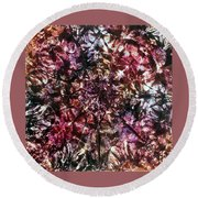 37-offspring While I Was On The Path To Perfection 37 Round Beach Towel