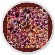 38-offspring While I Was On The Path To Perfection 38 Round Beach Towel