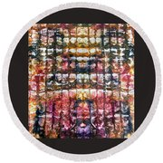 39-offspring While I Was On The Path To Perfection 39 Round Beach Towel