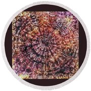 40-offspring While I Was On The Path To Perfection 40 Round Beach Towel