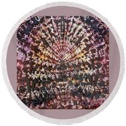 41-offspring While I Was On The Path To Perfection 41 Round Beach Towel