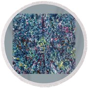 46-offspring While I Was On The Path To Perfection 46 Round Beach Towel