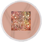 7-offspring While I Was On The Path To Perfection 7 Round Beach Towel