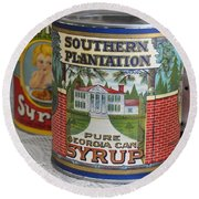 Oh How Southern Round Beach Towel