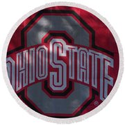 Ohio State Round Beach Towel