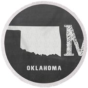 Ok Home Round Beach Towel