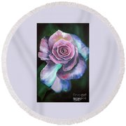 Old Fashioned Rose Round Beach Towel