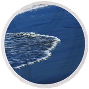 Round Beach Towel featuring the photograph Old Friends by John Glass