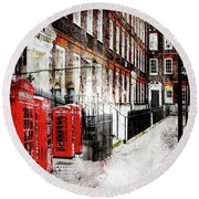 Old Square Round Beach Towel