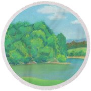 Omega Afternoon Round Beach Towel