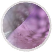 Round Beach Towel featuring the photograph On The Brink Of A Foul. Angels Flight Series by Jenny Rainbow