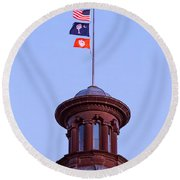 On The Dome-5 Round Beach Towel