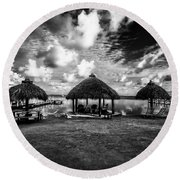 On The Island Round Beach Towel by Kevin Cable